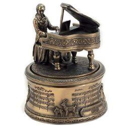 Caja de música vintage
