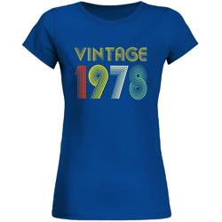 Camiseta vintage mujer