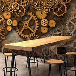 Cafetería vintage