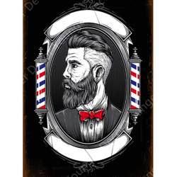 Barbería vintage