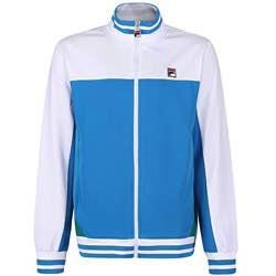 Fila Vintage - Tiebreaker Track Top Royal Blue/White azul M chaquete chándal vintage logo fila retro clásico azul blanco