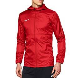 NIKE Men's Dry Park18 Football - Chaqueta Hombre vintage retro logotipo retro rojo vivo