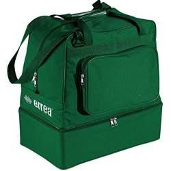 Errea Basic - Bolsa de Deporte Unisex para Adulto verde rojo negro colores disponibles fondo rígido vintage estilo retro