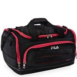 Fila Cypress Small Sport Duffel Bag, Bolsa de lona Unisex Adulto retro negra colores vintage clásica
