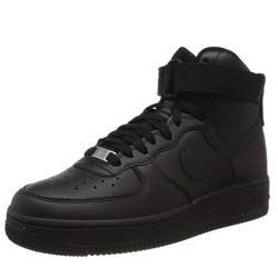 Nike air force mujer baloncesto negro vintage