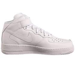 Nike Air force 1 one gimnasia hombre blanco