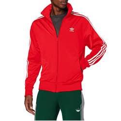 adidas Firebird Tt - Sudadera Hombre chaqueta deportiva de deporte chándal cremallera bolsillos bandas logo adidas