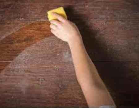 acondicionar superficie para pintar mueble vintage