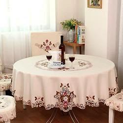 manteleria de mesa retro clasica
