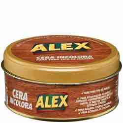 Alex - Cera Sólida Incolora 250 ml para mueble vintage efecto usado envejecido