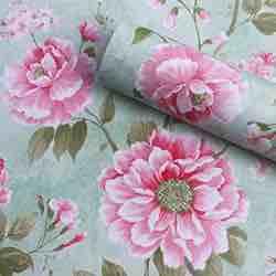 GLOW4U - Papel de contacto con patrón de flores vintage, autoadhesivo, extraíble para estantes, cajones, muebles de pared y manualidades, 17,7 x 78,7 pulgadas vintage flores rosa campestres estampado flores papel de pared salón dormitorio