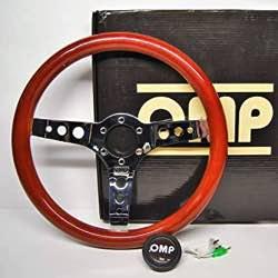 OMP OMPOD/2023/LE Volante, Dark Marrón, Diámetro 360 mm