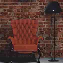 Brewster FD31045 - Ladrillo Wallpaper - Orange Ladrillo visto caravista vintage clásico papel comedor retro adhesivo comprar papel pintado