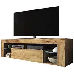 Selsey Hugo Mueble Bajo para TV vintage madera natural