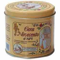 Cera Novecento y921 Cera de abejas, Nogal Medio, 500 ml italiana