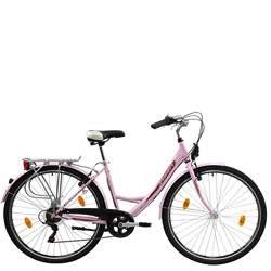 Bici vintage señora rosa