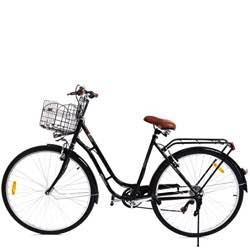 Bici vintage mujer cesta y luz