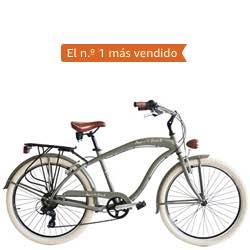 Bici retro vintage para hombre beneto verde