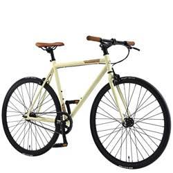 Bicicleta vintage color crema