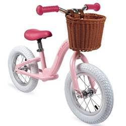 Bici sin pedales vintage niña rosa