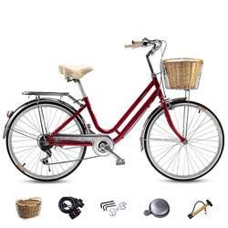 ciclo vintage roja 26